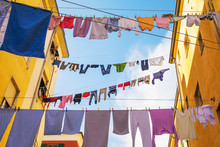 Drying Of Clothes In In Italia...