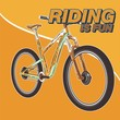 Cycling Poster Design Template Vector Illustration - Vector
