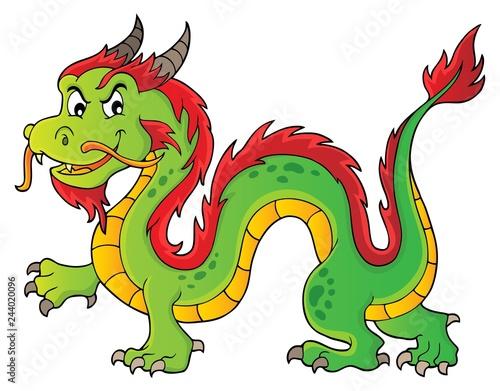 Chinese dragon theme image 1