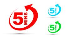 Five Minutes Icon Set