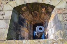 Kanone Der Burg Von Edinburgh/...