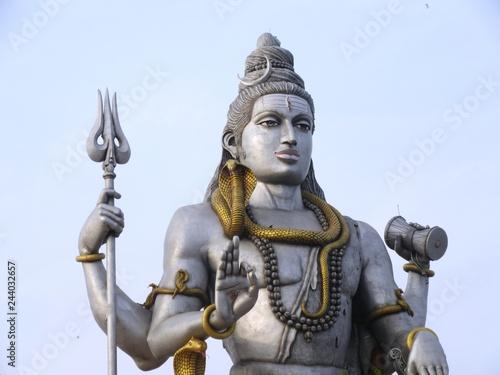 Shiva-Statue in Murudeshwara / Südindien