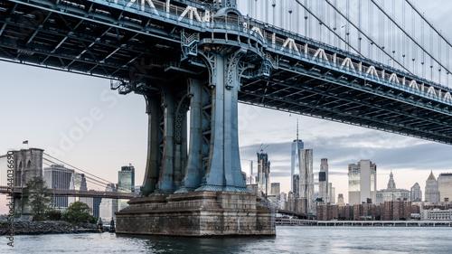 Fotomural  mahattan bridge HDR