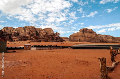 Photo  Wadi Rum desert in Jordan