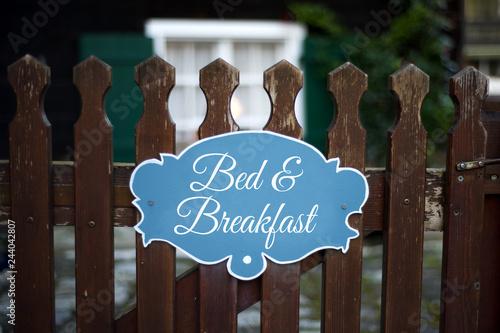 Fototapeta Bed & Breakfast  obraz