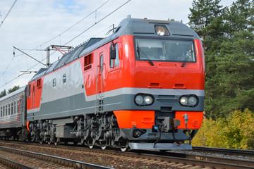 Locomotiv electric train