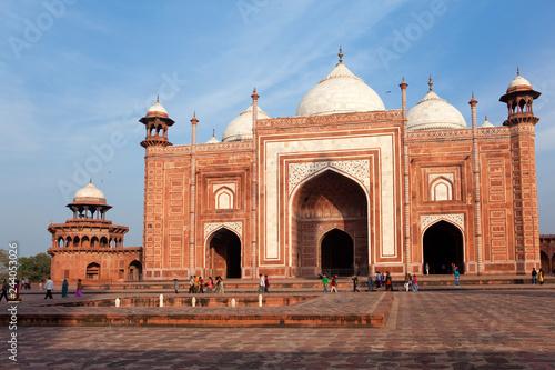 Deurstickers Asia land Mosque in the territory Taj Mahal, India