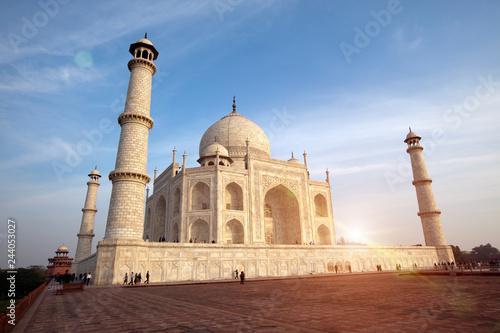 Deurstickers Asia land Taj Mahal in Agra, Uttar Pradesh, India.