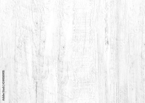 Fototapety, obrazy: White wood pattern and texture for background.