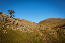 A Circular Walk To Ingleborough And Whernsin The Yorkshire Dales. Head Along Southerscales Scars And Humphrey Bottom Two Of The  3 Peaks Challenge.