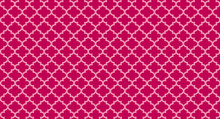 Pink Quatrefoil Background