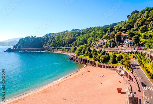 Zarauz is a town and municipality located in the eastern part of the Urola Costa region, in the province of Guipúzcoa