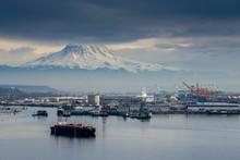 Port Under Mount Rainier 2