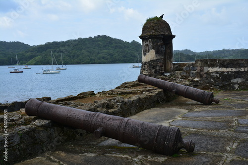 Fotografía  Fort de Portobelo, Colon, Panama - Portobelo Fortress Panama