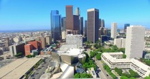 Aerial  View Of  Los Angeles D...