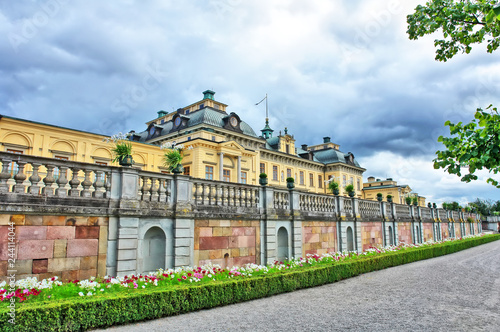 The Drottningholm Palace   - private residence of the Swedish royal family.