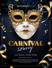 Venetian Carnival Poster