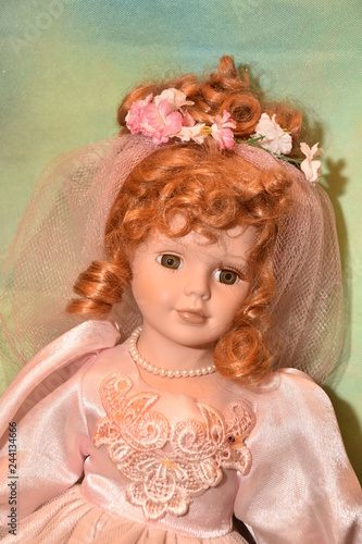 Photo beautiful  doll in my family collection