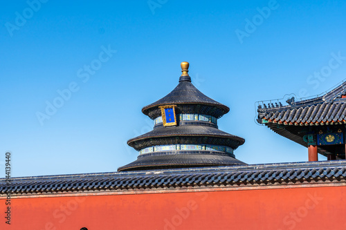 Photo  chinese temple of heaven