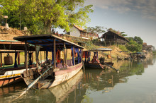 Don Khong Ferries - Mekong Riv...