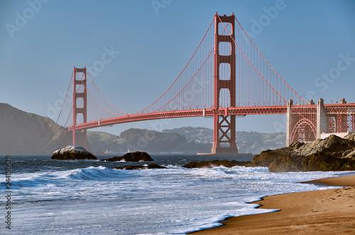 Keuken foto achterwand Amerikaanse Plekken Golden Gate Bridge, San Francisco, California