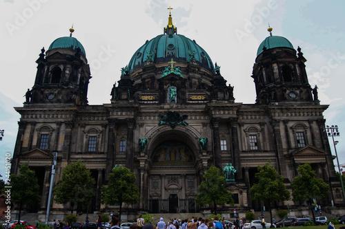 Spoed Fotobehang Berlijn Berliner Dom von Vorne