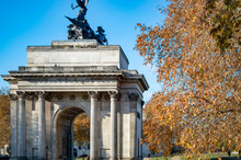 Wellington Arch In Hyde Park C...