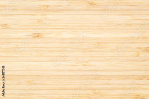 Bamboo natural wood texture pattern background in light cream beige brown color Canvas-taulu