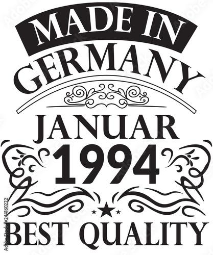 Fotografia  25. Runder Geburtstag Januar 1994