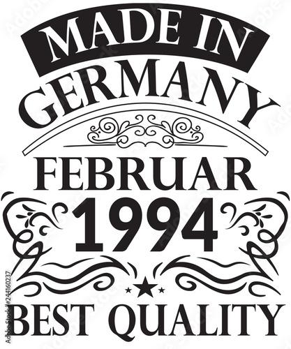 Fotografia  25. Runder Geburtstag Februar 1994