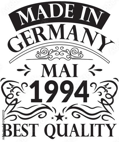 Fotografia  25. Runder Geburtstag Mai 1994