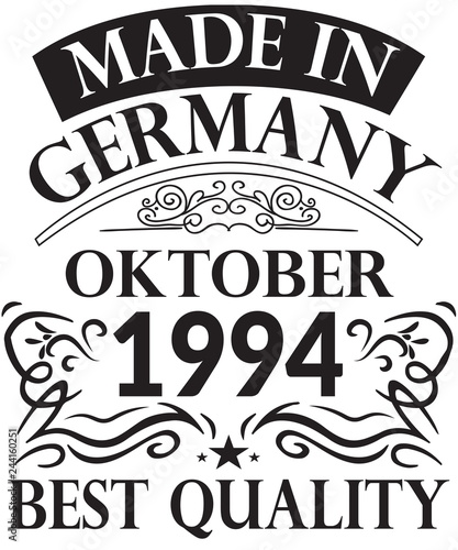 Fotografia  25. Runder Geburtstag Oktober 1994