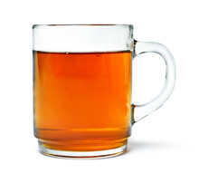 Cup Of Tea With Tea, Isolated ...