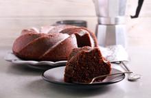 Mocha And Rum Ring Cake