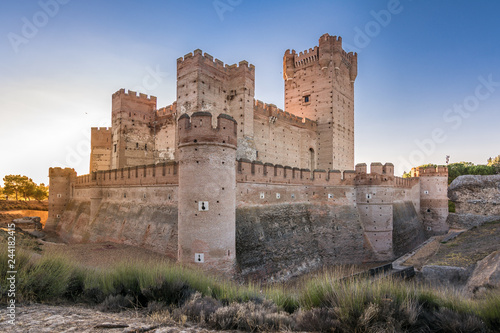 The castle of La Mota is a castle that is located in the town of Medina del Campo, (province of Valladolid, Spain)