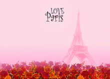 Eiffel Tower- Paris France Lov...