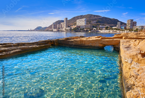 Photo Alicante Roman fishpond structure ruins