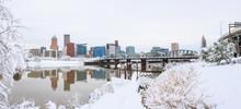 Winter Landscape Of Portland O...