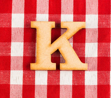 Letter K Of The Alphabet - Tex...