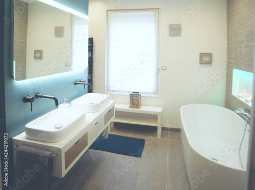 Photo Salle de bain moderne