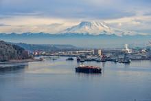 Port Under Mount Rainier 5