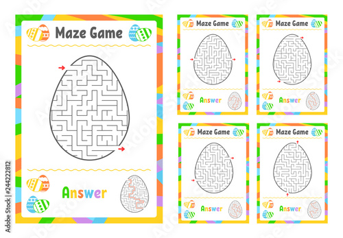 Photo  A set of mazes