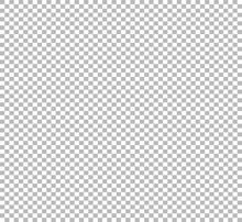 Transparent Photoshop Background. Checker Chess Square Abstract Background For Transparent Illustrations. Vector Illustration