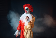 Mad Bloody Clown Pointing At You, Terrible Sign