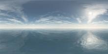 HDRI, Environment Map , Round Panorama, Spherical Panorama, Equidistant Projection, Panorama 360, Seascape