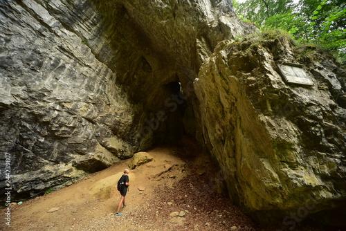 Photo  CHKO Moravian karst Byci skala Bull rock