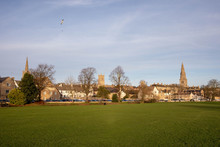 Stamford Is A Town On The River Welland In Lincolnshire, England