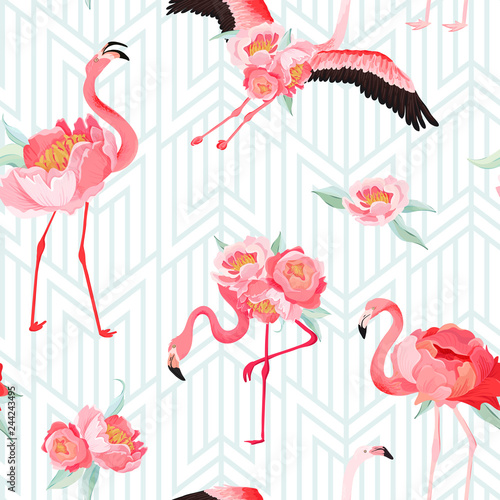 tropikalny-flaming-lata-bezszwowy-wektorowy-wzor-z-peonia-kwiatami-i-art-deco-tlem-kwiatowy-i-ptak-graficzny-na-tapety-strony-internetowej