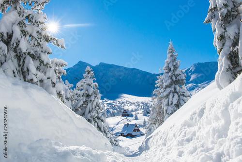 Hala Gasienicowa - Tatry, zima 01.2019