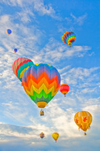 Hot Air Balloons - 4th Of July - Provo City, Utah